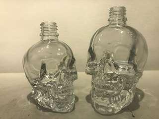 60ml Skull Bottle with oil dropper