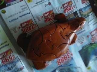Wood Puzzle - Turtle