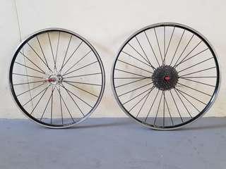 spinergy spox wheelset rim brake
