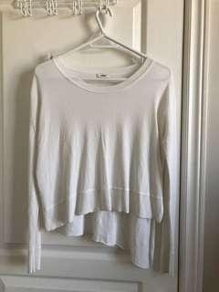 Aritzia Wilfred light knit top XS price drop