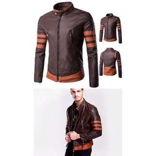 WOLVERINE Leather Jacket | X-MEN SERIES