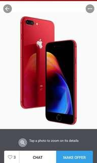 Looking to buy brand new iPhone 8 plus  (Red)