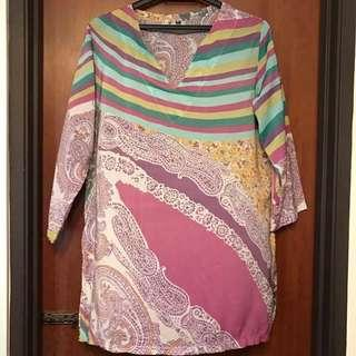 Bali Batik Inspired Blouse