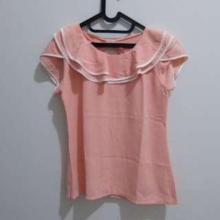 Ribbon Pink Top