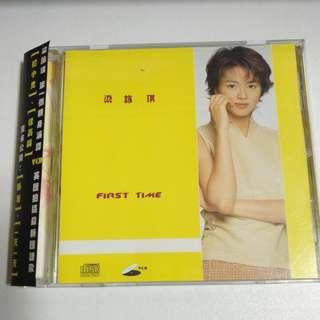 梁詠琪 First Time VCD 有側紙