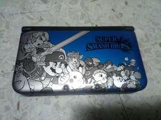 2nd Nintendo 3DS XL (LIMITED SUPER SMASH BROS EDITION)