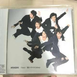 Arashi CD+ DVD 日版
