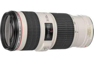 Selling canon 70-200mm F4L IS USM