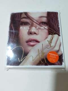 胡琳簽名cd。
