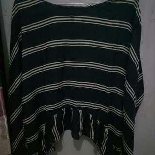 Preloved zara blouse very good condition