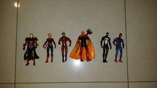 MARVEL UNIVERSE 3.75 INCH VARIOUS