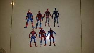 MARVEL universe spiderman set of 7 figure 3.75 inch marvel kegends