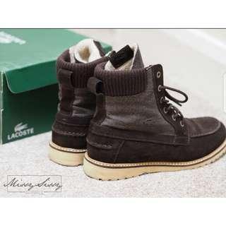 Original Lacoste Suede Boots