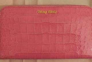 Authentic Miumiu Long Wallet