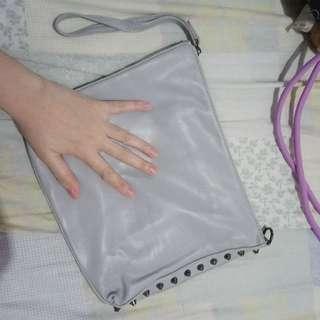 Zalora Hand Bag Gray