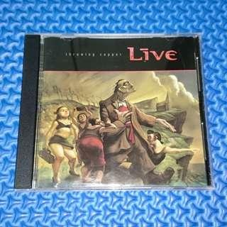 🆒 Live - Throwing Copper [1994] Audio CD #3x100