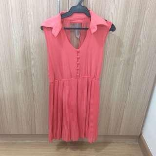 Collared Button-up Dress