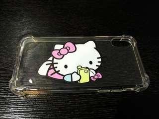 Hello Kitty iphone X Protector Clear Shell