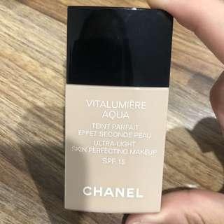 Chanel Vitalumiere Aqua Foundation