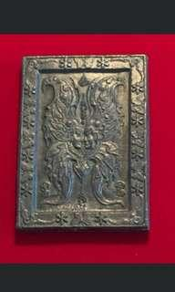 Kruba Krissana Thep Roman Butterfly Amulet. 2547. Rare