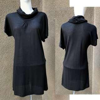 GIORDANO - Black Woman Long Top