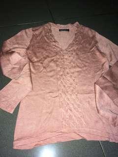 Sweater rosegold