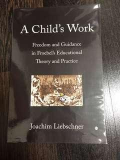 Pre-loved A Child's Work froebel
