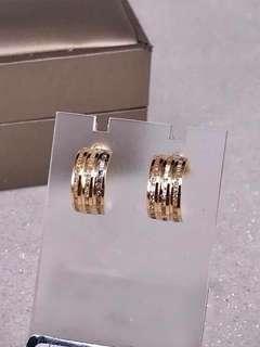 18K Saudi Gold Earring