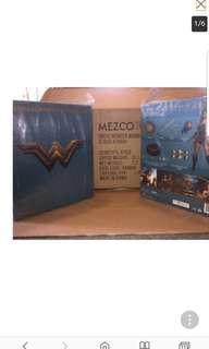 mezco 1:12 1/12 scale wonderwoman wonder woman in stock