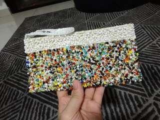 Colorful Beads Pouch