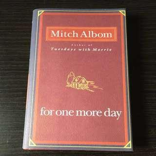 For One More Day Mitch Albom