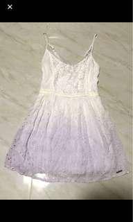 Ombré Reid lace dress