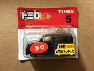 [油麻地自取95折] Tomica 新車貼 No.5