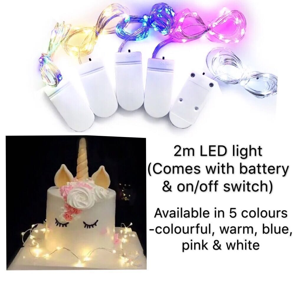 9 5 2m LED Fairy Lights For Cake Decorations Dessert Table Setup
