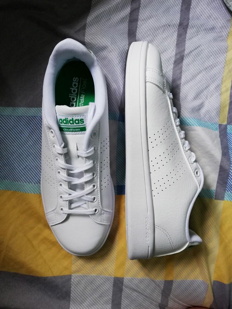 afa46dfde Adidas Cloudfoam Advantage White Green