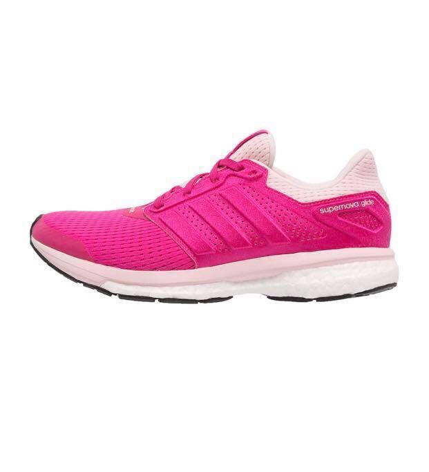 4116673183428 Adidas Supernova Glide Pink Running shoe US8