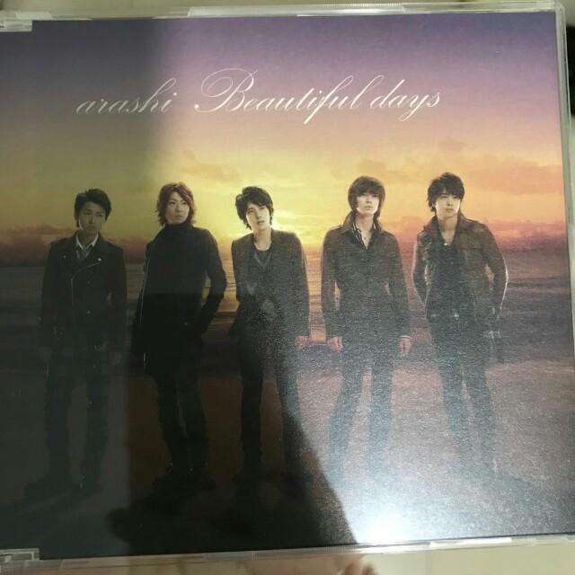 Arashi CD only日版