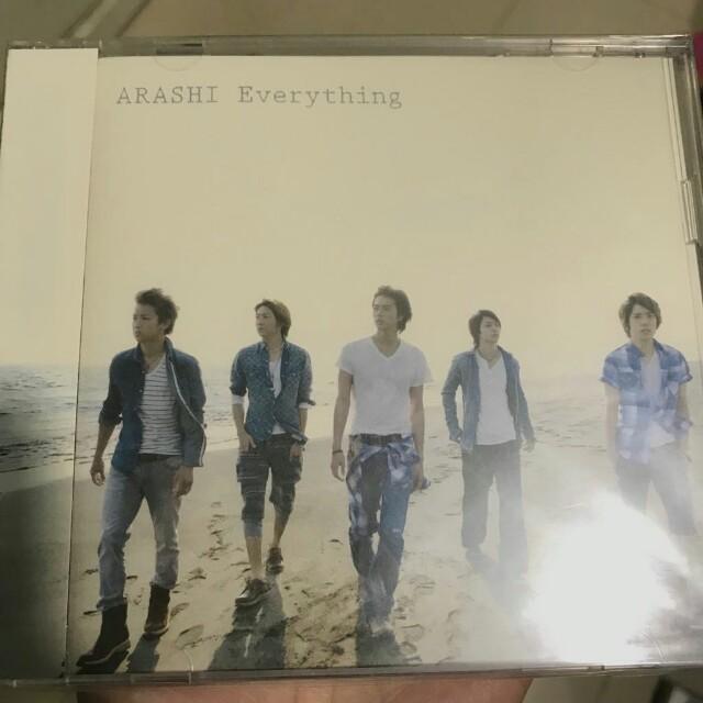 Arashi CD+DVD日版