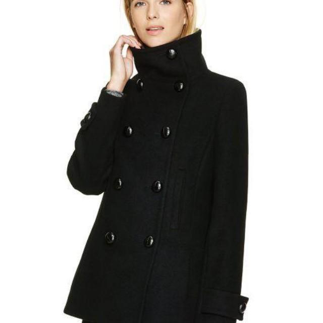 Aritzia Talula Babaton Howell Jacket Coat Black XXS