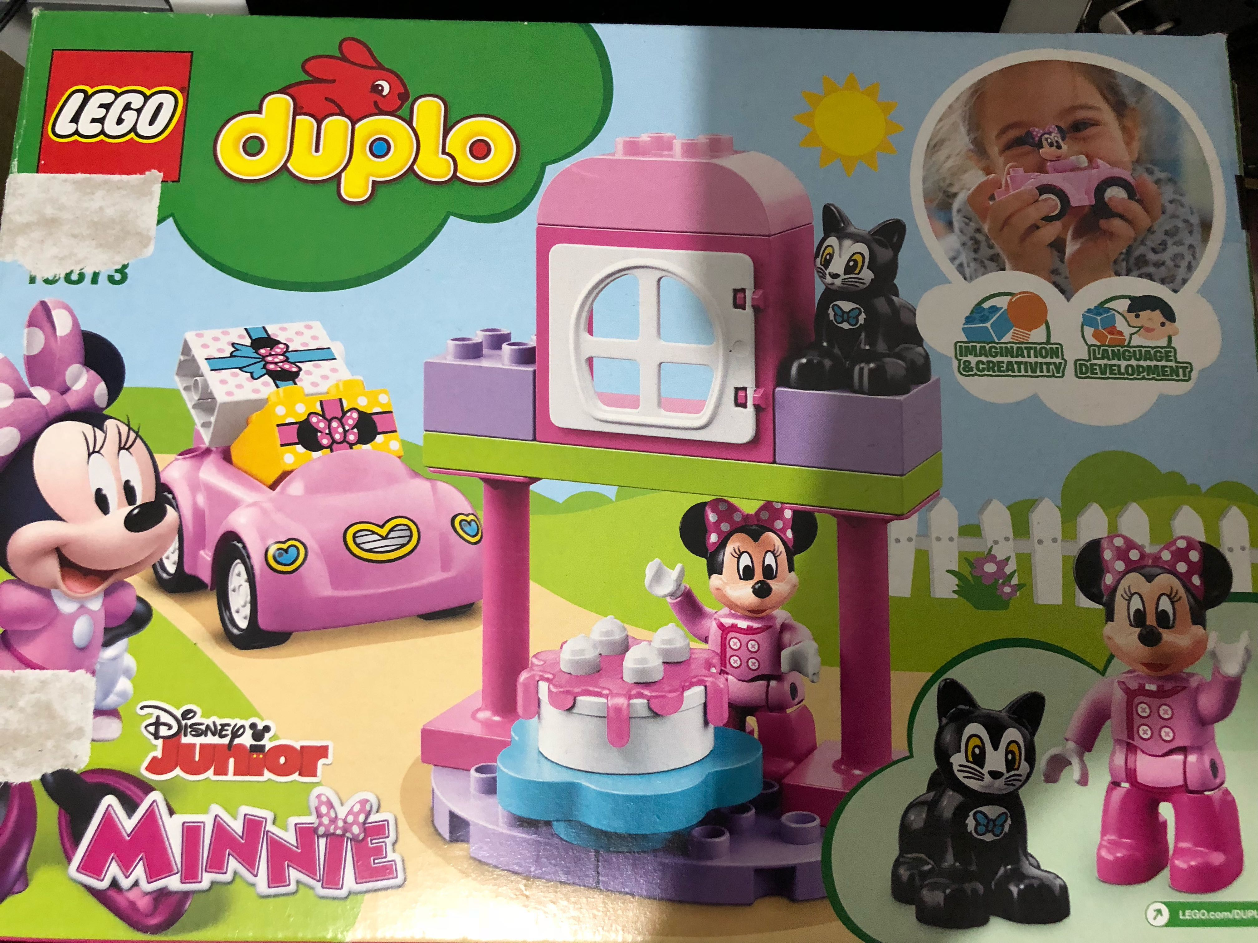Authentic Lego Duplo Minnie Mouse Birthday Party Toys Games