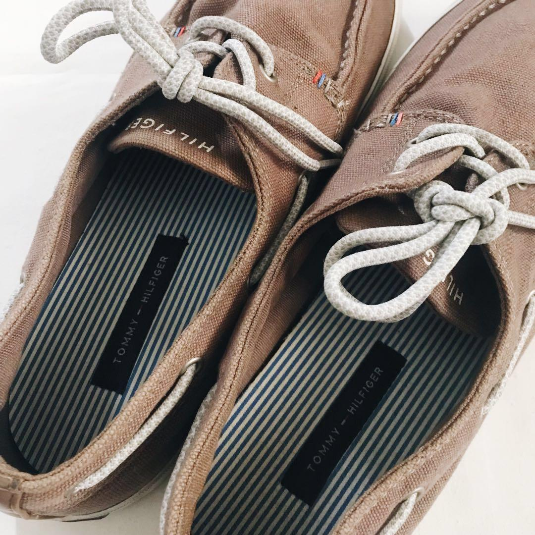 Authentic Tommy Hilfiger Boat Shoes