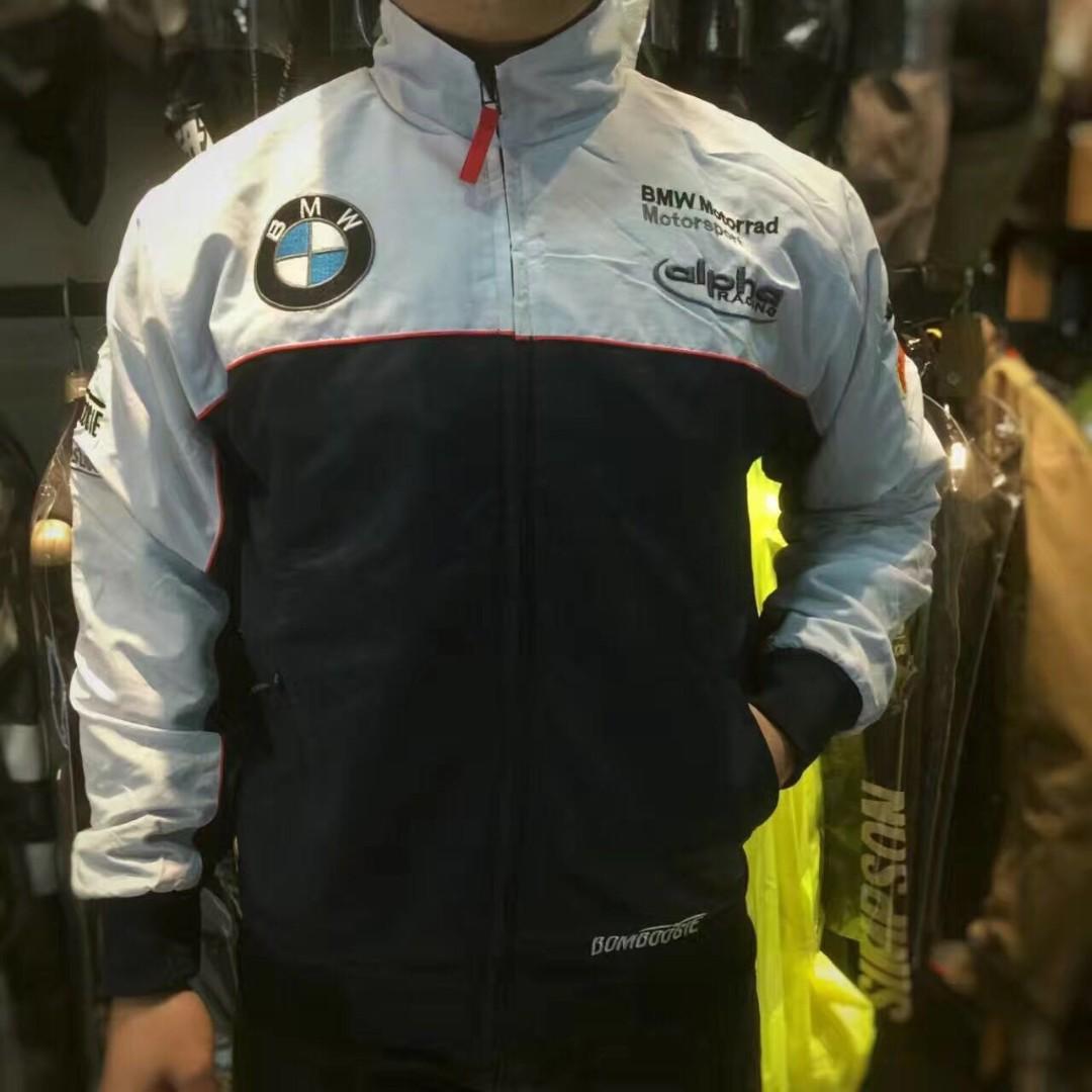 cabb245a8ae BMW motorrad motorsport Alpha racing jacket sweater windbreaker wind ...