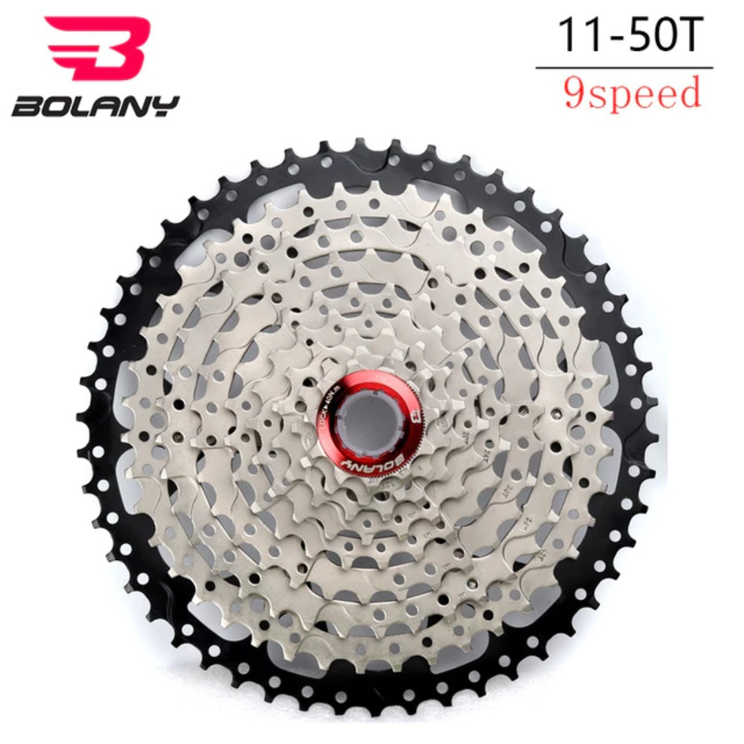 456dcc3bd85 🅝🅔🅦:BOLANY 9 speed 11-50T Single Speed Mountain Bikes Mtb Wide ...