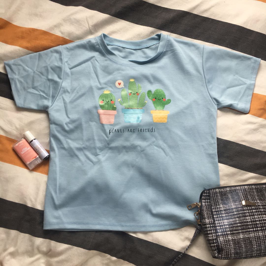 66ca9e045 Cactus Graphic Tee, Women's Fashion, Clothes, Tops on Carousell