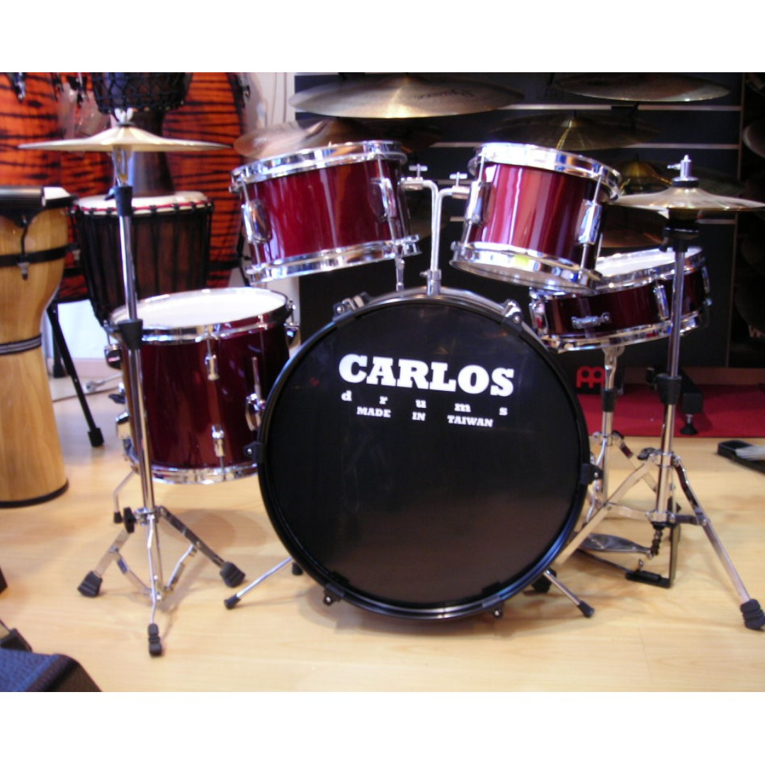 Carlos - 5PC Junior drum set ( DP16JR-RD )