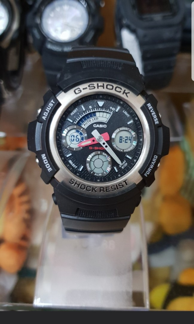 773b900999a3 Casio G-Shock AW-590 Digital Analog Watch