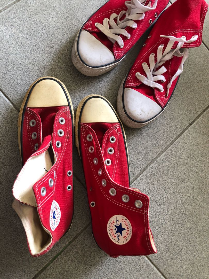 db2df5b4f64 Converse Chuck Taylor red Color shoes