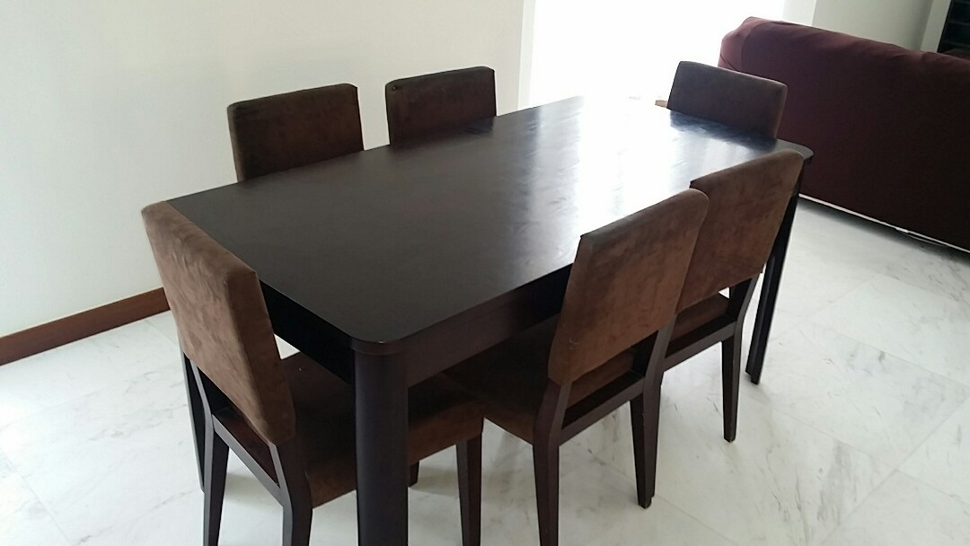 Premium Dining Table Chair Set From Barang Barang Furniture Tables