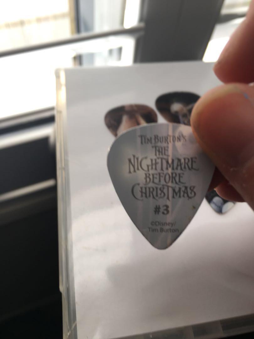 Disney Nightmare Before Christmas motion guitar picks