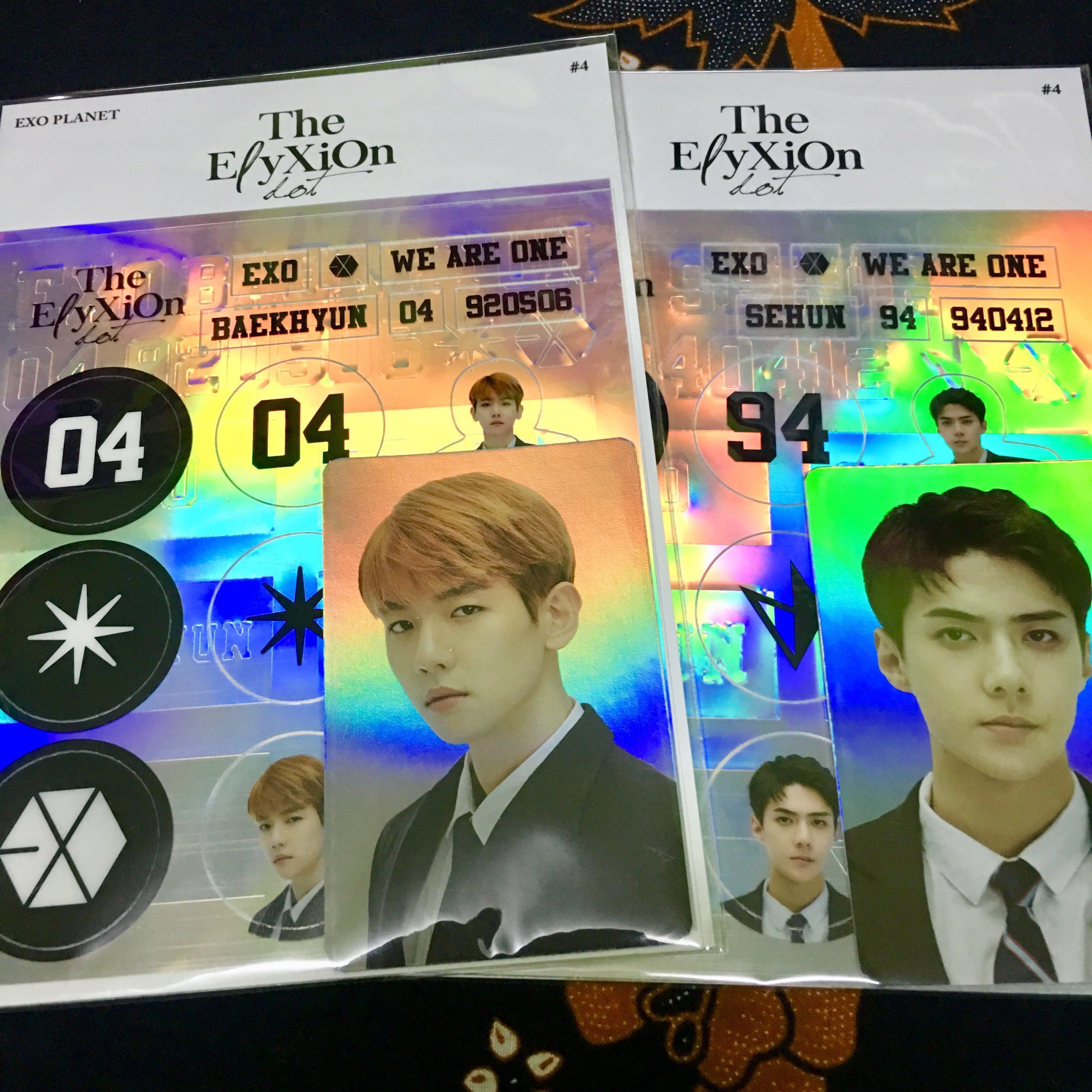 Exo Elyxion Deco Sticker K Wave Di Carousell